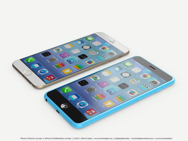 Large screen iPhone 6 concept.