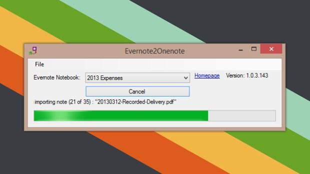 evernote2onenote