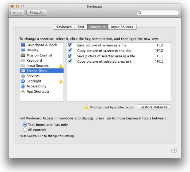 Take better screenshots on Mac