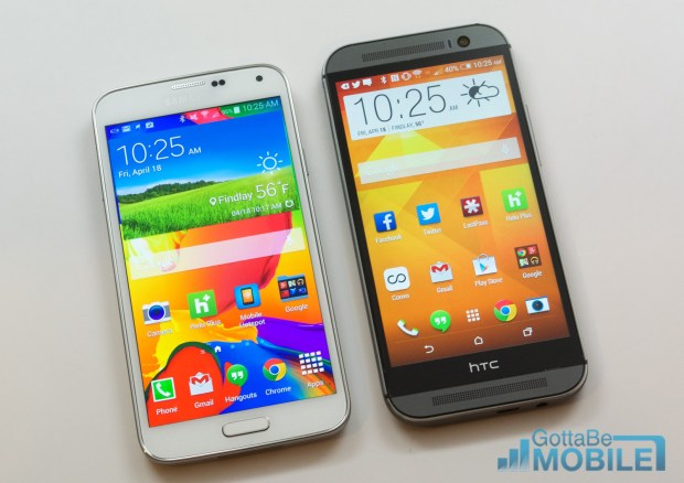 Deal on HTC One M8 and Galaxy S5 and iPhone 5