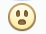 Facebook Emoticon Gasp
