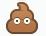 Facebook Emoticon Poop