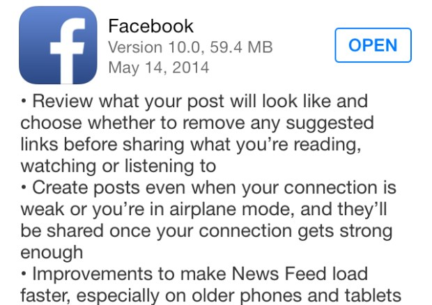 Facebook-iPhone-App-Update