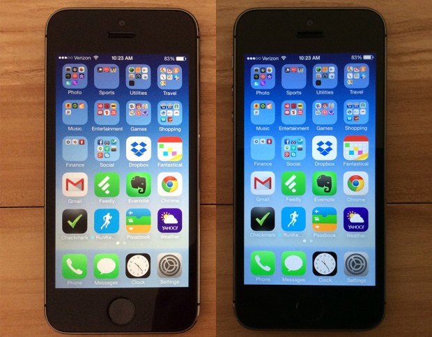 Apple could add an iOS 8 feature that makes the display better suited for viewing at night.