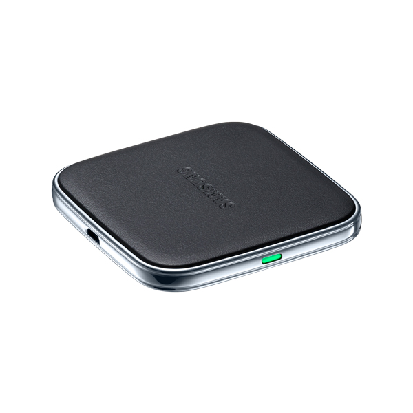 This is the official Galaxy S5 wireless charging pad, but there are many options.