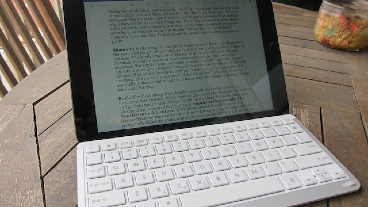 55d0443e8f74 Belkin QODE Thin Type Keyboard Case for iPad Air Review