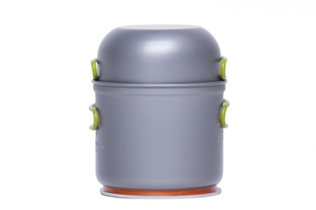 Powerpot with lid