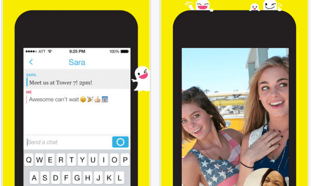 Snapchat Takes on FaceTime with Video Chatting and Messaging