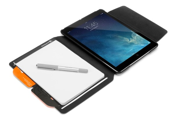 booqpad for ipad air open