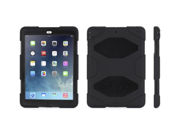 griffin survivor case ipad air front and back