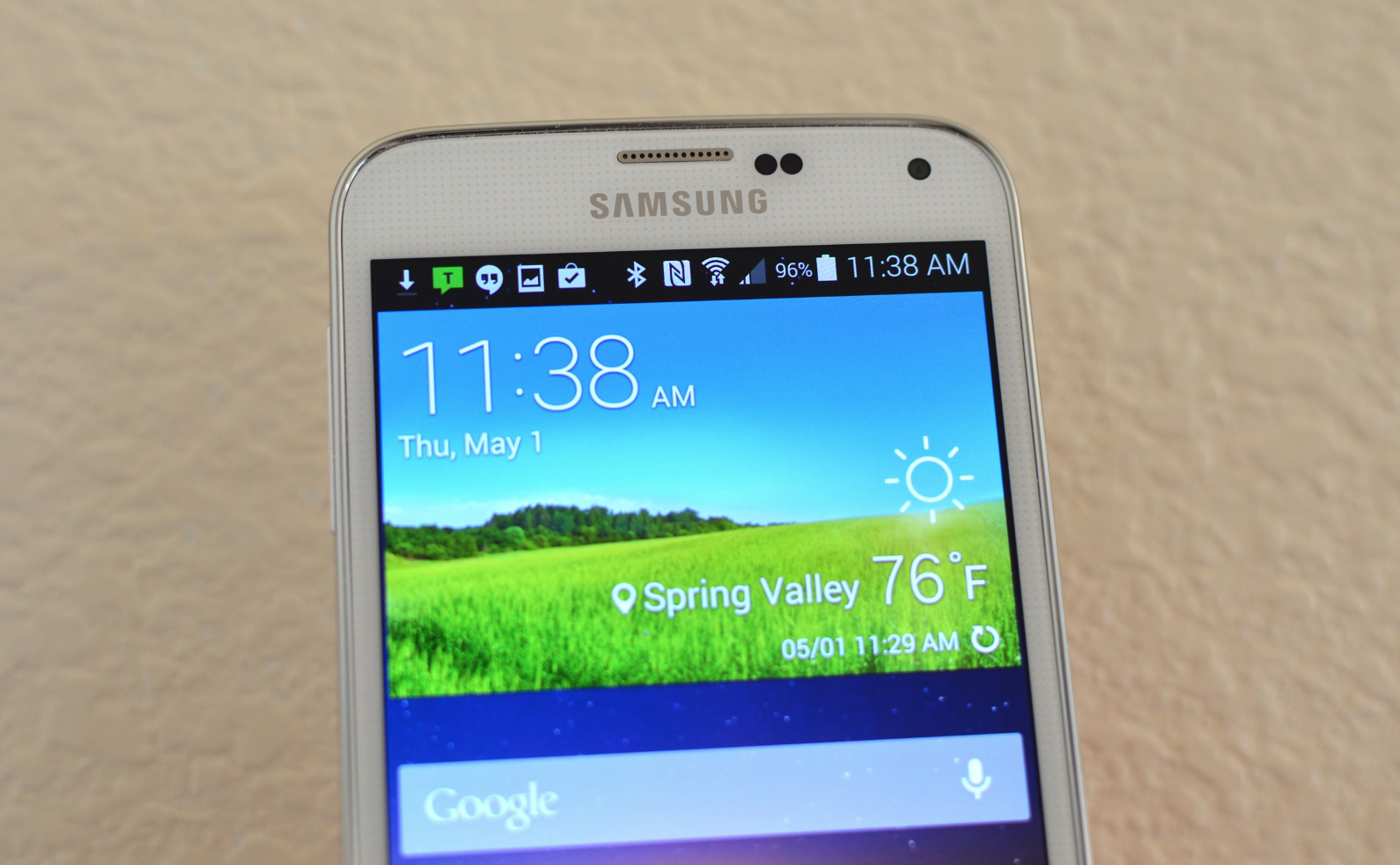 Samsung Galaxy S5 Notification Bar Icons Explained