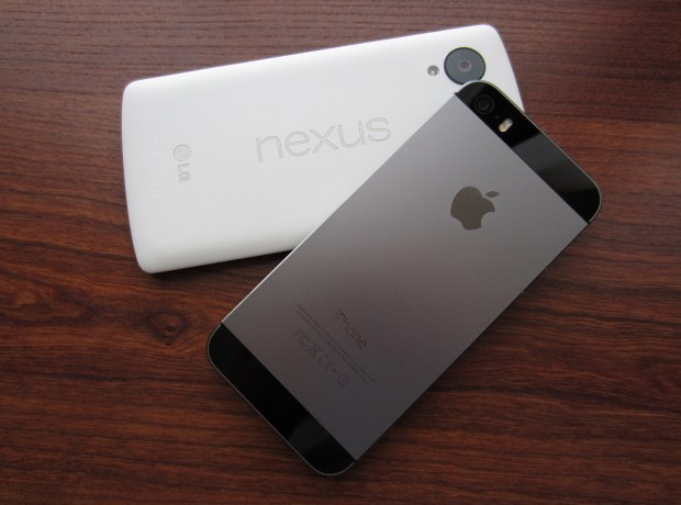 iPhone-5s-Nexus-5