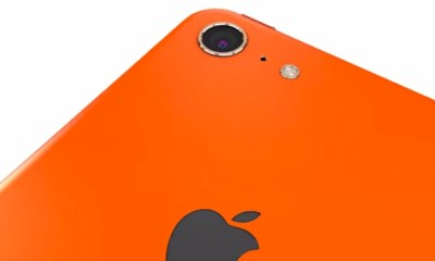 This pair of iPhone 6 video concepts show an iPad Air inspired look in bright colors.