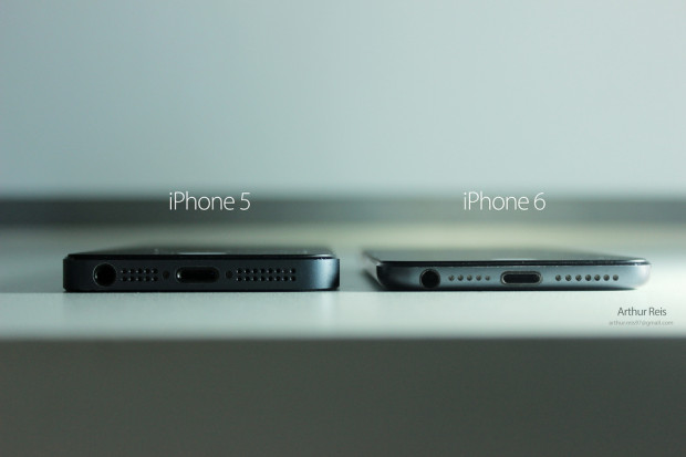 Again, we see just how thin a 7mm iPhone 6 could be.