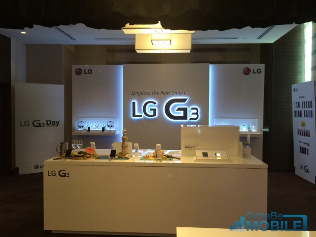 The LG G3 release date is imminent for some.