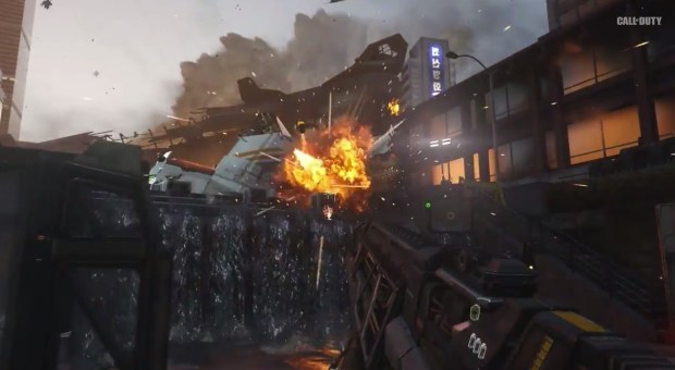 In Call of Duty: Advanced Warfare you get grenades that seek and highlight threats.