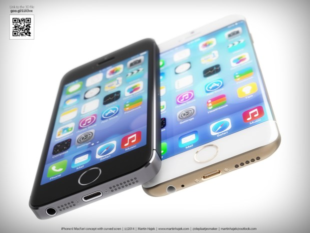 Not all reports agree on curved iPhone display this year.
