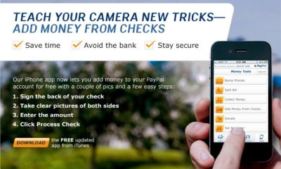 A rude surprise means you can't deposit a check with your iPhone using PayPal Mobile Check Capture, which the company discontinued on June 15th with no notice.