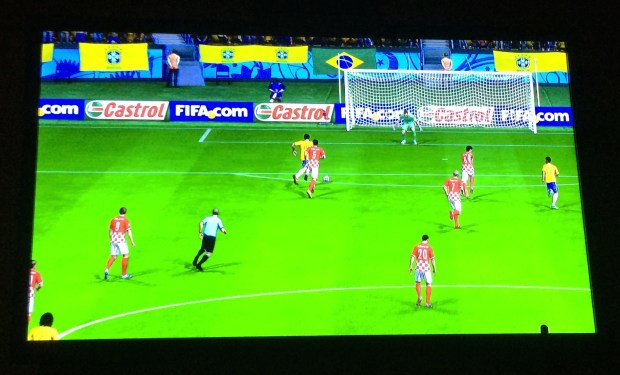 Play through World Cup 2014 Highlights on FIFA 14.