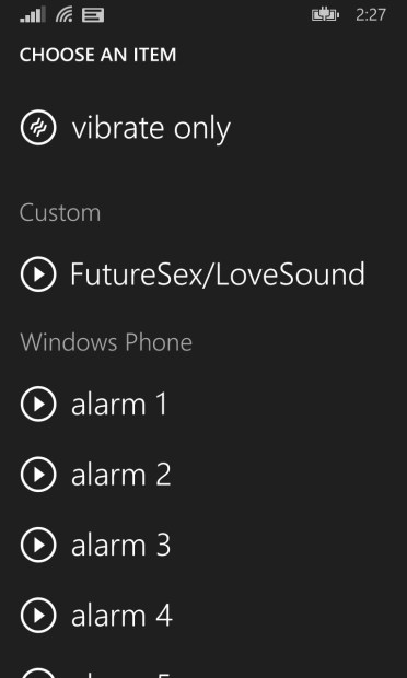 How to Use a Song As an Alarm on the Nokia Lumia 520 (11)