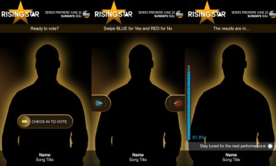 Find the Rising Star app download for iPhone, Android and Windows Phone, to get ready for the premier.