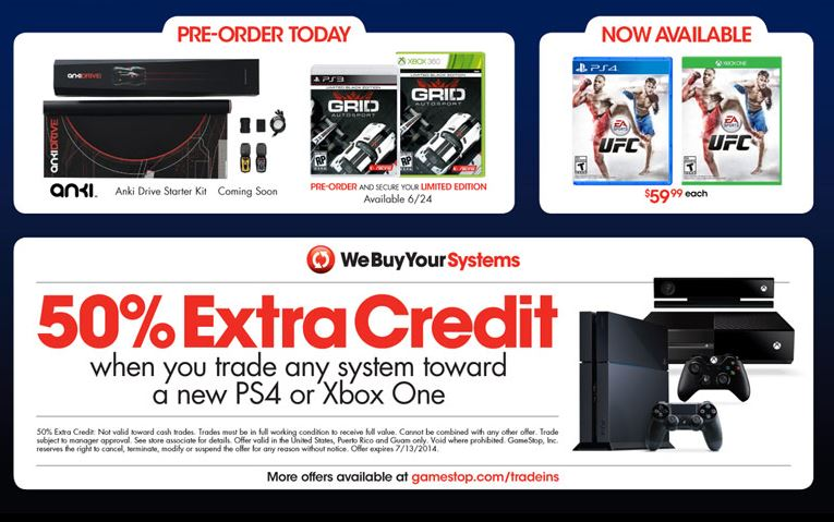 amazing deal lets users upgrade to the xbox one and ps4 on the cheap