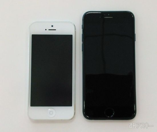 New iPhone 6 photos show the device next to the iPhone 5s.