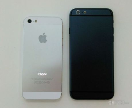 iPhone-6-vs-iPhone-5s Design