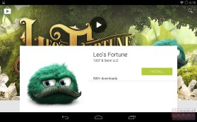 Android L Google Play Store Update - 1