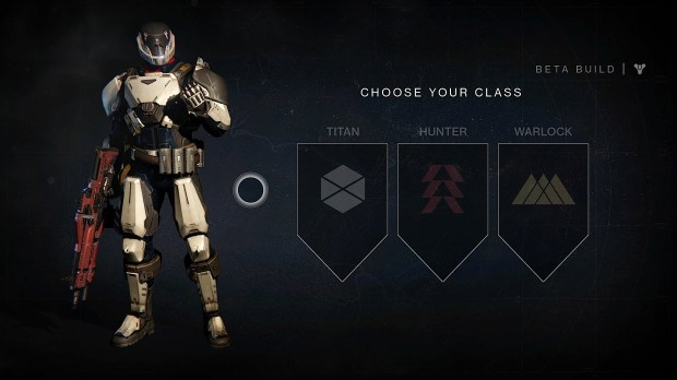 Choose your Destiny beta character. Maximize fun by picking one that suits your play style.