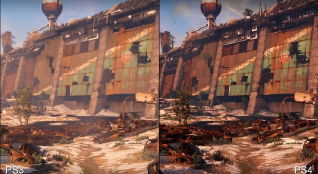There are very clear differences between the PS3 vs PS4 Destiny comparison.