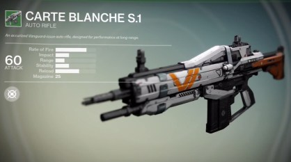 Destiny preorder Bonus Weapons - 6