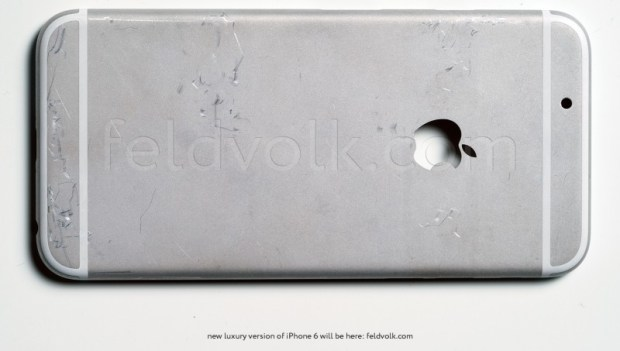 A new detailed iPhone 6 leak shows a potential back.