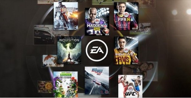 EA shows other games alongside the four current Vault games.