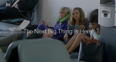 Galaxy S5 Ad Wall Huggers - iPhone battery life - 1