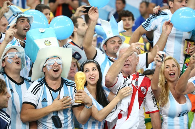 Fans can use these options to find a Germany vs Argentina live stream.