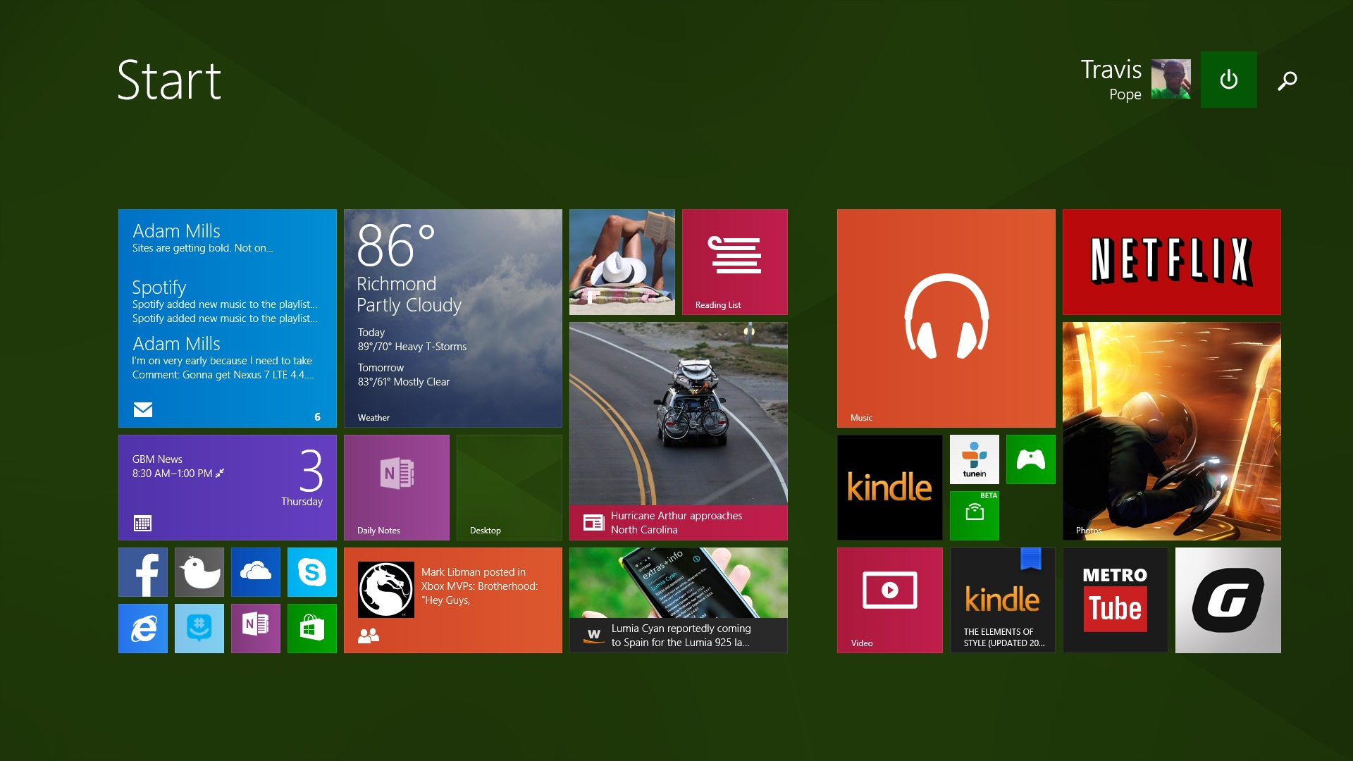 How to Make Text and Apps Larger in Windows 8.1