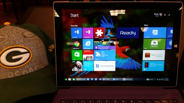 surface pro 3 display