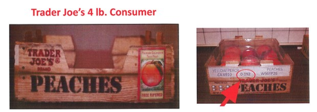Trader Joe's peaches are part of this nationwide listeria recall.