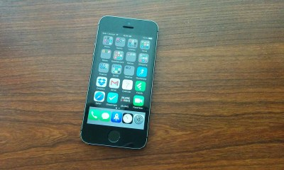 iOS 7.1.2 on iPhone 5s