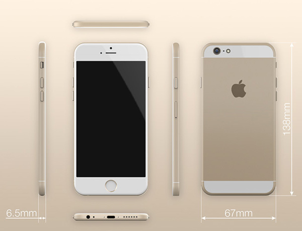 The iPhone 6 design is expected to be extremely thin.