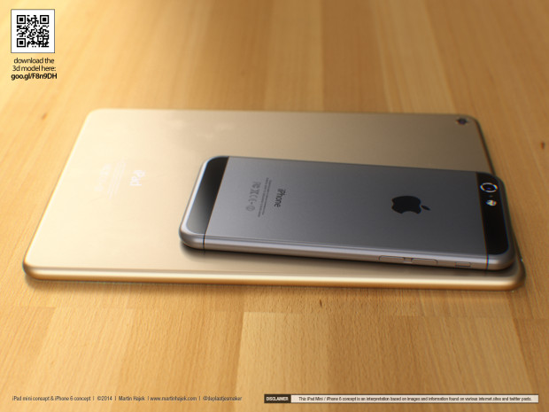 This iPhone 6 concept shows a design similar to iPhone 6 rumors.