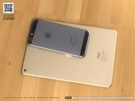 A new iPad Mini 3 concept shows what the tablet could look like if it borrows from the leaked iPhone 6 design.