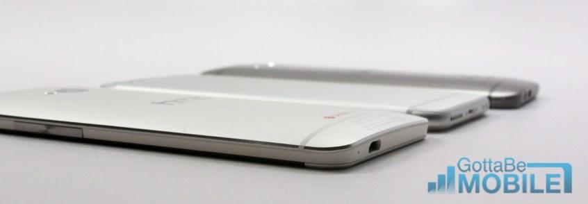 iPhone 6 vs HTC One - Design Edges