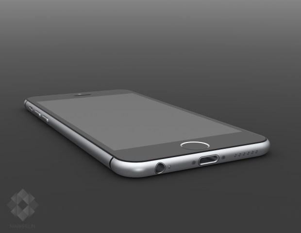 These iPhone 6 renders mirror iPhone 6 rumors.