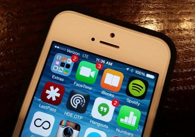 iOS 7.1.2 update on iPhone