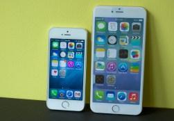 5.5 inch iPhone 6 vs iPhone 5s - 2