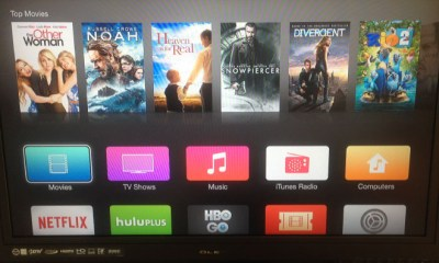 Apple TV iOS 7 Redesign