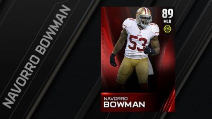 Best Madden 15 Ultimate team Players - Bowman