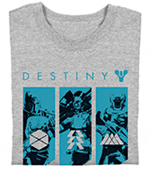 Free Destiny t-shirt.